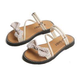$enCountryForm.capitalKeyWord Australia - 2019 Summer Fashion Children Baby Girl Bohemia Cross-tied Rubber SandalsFlock Cute Cross Tie Princess Shoes Sandals