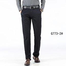$enCountryForm.capitalKeyWord Australia - New Mens designer brand Suit Pants Business style Casual Slim Fit formal luxury black straight Elastic force Suit Trousers Wedding Size29-40