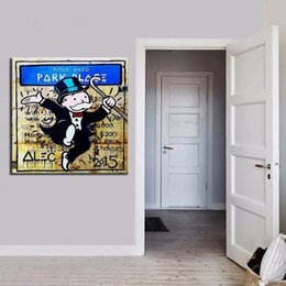 $enCountryForm.capitalKeyWord NZ - High Quality Handpainted & HD Printed Banksy Street Art oil painting Wall Art Home Decor On Canvas Multi Sizes Frame Options g126