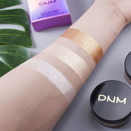 face glow cream Australia - DNM Loose Highlighter Powder Waterproof High-Light Iluminador Contouring Brighten Glow Eye Shadow Grooming oil lcontrol Loose Face Cosmetics