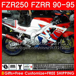 $enCountryForm.capitalKeyWord Australia - Kit For YAMAHA FZRR FZR 250 R 250R FZR250 90 91 92 93 94 95 124HM.61 FZR-250 FZR250R 1990 1991 1992 1993 1994 1995 Fairing white glossy red