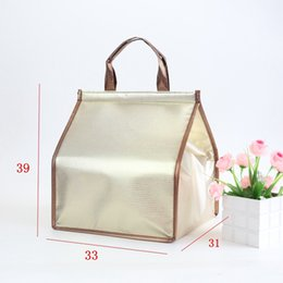 Food Refrigerated Bag Birthday Cake Storage bags waterproof portable insulation bag Case cold storage package With Ice Bags GGA2935 on Sale