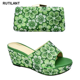 ShoeS purSe match online shopping - New Arrival High Quality Women Shoes and Bags To Match Set Italy Shoes and Matching Purse for Women Party Summer Big Size