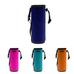$enCountryForm.capitalKeyWord UK - 17.5x6.4cm Water Bottle Cover Bag Pouch Portable Sleeve Case Neoprene Carrier Insulated Bag Cooler Sleeve Cover For Water Bags