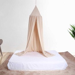 $enCountryForm.capitalKeyWord Australia - Baby Canopy Round Mosquito Net Boys Girls Princess Bed Canopy Cotton Bed Valance Pest control Reject Net Kids Room Decoration