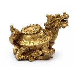 $enCountryForm.capitalKeyWord UK - NEW ++Pure copper dragon turtle Small decoration money turtle coins turtle home