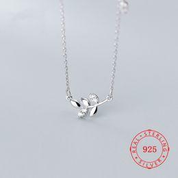$enCountryForm.capitalKeyWord Australia - Hot Sale Unique Pure 925 Sterling Silver Leaf Branch Necklaces for Women Female fine silver necklace pendant