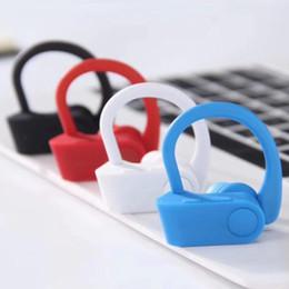Ear EarphonE portablE online shopping - TRUE WIRELESS FLASH Headphones JB Bluetooth headset Portable U A Double Ear Earphones For IOS Android with box
