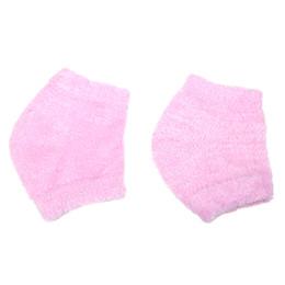 $enCountryForm.capitalKeyWord UK - 1 Pair Pink Gel Heel Socks Spa Moisturizing Feet Calluses Cracked Dry Foot Skin Care Protector Pedicure Exfoliating Beauty