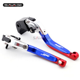 $enCountryForm.capitalKeyWord Australia - Brake Clutch Lever For BMW S1000RR 2010-2018  HP4 2012-2015 Blue+Red Folding Extendable Adjustable Motorcycle Logo S1000 RR