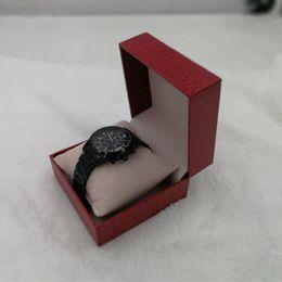 $enCountryForm.capitalKeyWord Australia - Luxury Square Watch Box Case Leather Jewelry Organizer Wrist Watches Holder Display Storage Box Organizer Gift Dropshipping