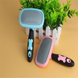 $enCountryForm.capitalKeyWord Australia - Pet Dog Cat Hair Gilling Beauty Handle Grooming Slicker Trimmer Comb Brush pet cleaning tools Supplies Product