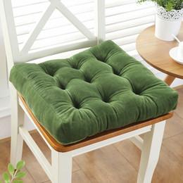 $enCountryForm.capitalKeyWord Australia - Thickening Anti-skid Cotton Chair Cushion Tatami Seat Pad Soft Office Chair Cushions Car Sit Mat Winter Cushion Throw Pillow