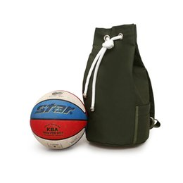 4b199a62367f Canvas Sport Backpack Men Basketball Bag For Teenager Boys Soccer Ball Pack  Laptop Bag Football Net Gym Bags Male Army Green  304270