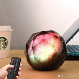 Crystal Magic Ball Usb Australia - Colorful Light Crystal Magic Ball player Outdoor portable Wireless Bluetooth Speaker Subwoofer Mini Mobile Phone Subwoofer Bluetooth Audio