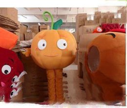 Adult Size Pumpkin Costume Australia - 2019 Factory direct sale plush pumpkin carnival costumes mascot costumes adult size free shipping