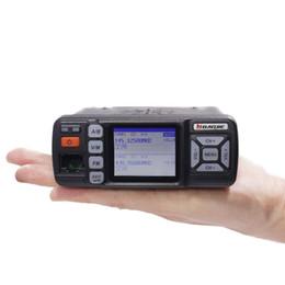 Radio Vhf Uhf Car NZ - Baojie BJ-318 Mini Car Walkie Talkie 10KM 25W Dual Band VHF UHF 136-174mhz 400-470mhz 128CH CAR Mobile Radio Station