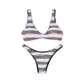 swimming suit bras 2019 - ISHOWTIENDA Swimming Suit biquini Women Sexy Push-Up Padded Bra Beach Halter Bikini Set Swimsuit Swimwear Swimsuit 2019