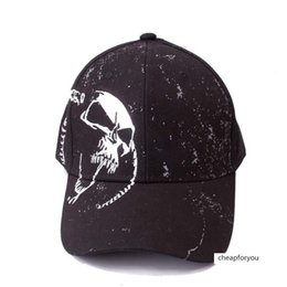 cooling baseball cap NZ - Adult Ghost Head cool male female cotton Four Seasons sunscreen baseball cap