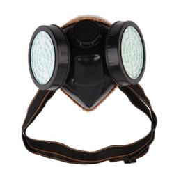 $enCountryForm.capitalKeyWord Australia - New Protection Filter Dual Gas Mask Chemical Gas Anti Dust Paint Respirator Face Mask with Goggles Industrial Safety Wholesale