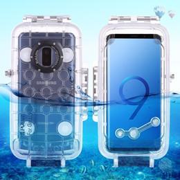 $enCountryForm.capitalKeyWord Australia - Puluz For Samsung Galaxy S9   S9+ Diving Case 40m 130ft Waterproof Housing Photo Video Taking Underwater Case Snorkeling Cover J190701