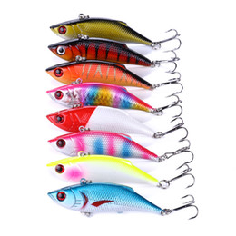 China 20pcs Sinking VIB Fishing Lure 8cm 11.8g Minnow Artificial Bait Vibration Winter ice Full Water suppliers