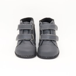 kids fashion winter shoes UK - Tipsietoes Brand High Quality Leather Stitching Kids Children Soft Boots School Shoes For Boys 2018 Autumn Winter Snow Fashion Y190525
