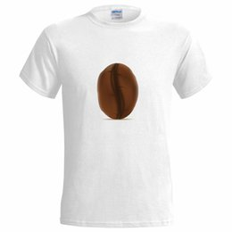 coffee bean espresso Australia - Big Coffee Bean Logo MENS T SHIRT cafe love fan drink espresso barista cool