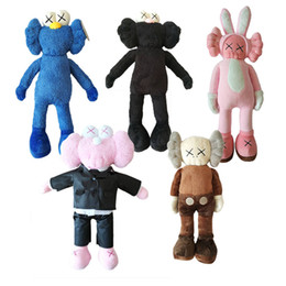 Hottest videos online shopping - Hot sell KAWS Plush Toys BFF Toy Sesame Street Plush Toy For Children Kids Holiday Birthday Gifts cm