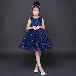 elegant princess gowns for kids 2018 - Elegant Cute Little Kids Flower Girl Dresses Princess Square Neck Knee Length Formal Wears for Weddings cheap elegant pr