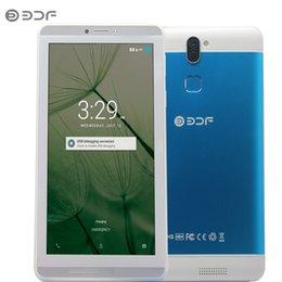 $enCountryForm.capitalKeyWord Australia - 2018 New 7 Inch Android 6.0 Quad Core 3G Phone Call Dual SIM 16GB Tablet Pc Wifi Bluetooth Metal shell Tablets for Big Discount