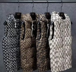 Wholesale 2020 winter coat the same style of European cotton waistcoat bread wear loose cotton jacket outside the collar waistcoat men and women