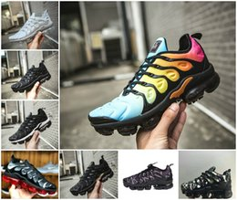 Off bOy online shopping - 2018 Air Kids Tn Plus Running Sports Shoes Infant boys girls OFF Black White Red Blue Basketball Sneakers Run Chaussures PLus Tn Maxes