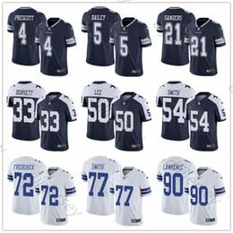 2c0184687 Dallas Cowboys Jersey Xl Australia - Custom Dallas Men's Cowboys Ezekiel  Elliott Dak Prescott Leighton Vander