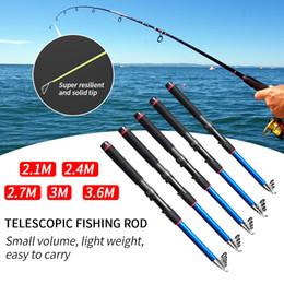 $enCountryForm.capitalKeyWord NZ - Portable Outdoor Fishing Rod Retractable Folding Rods 2.1-3.6M Carbon Fiber Travel Carp Whip Fishing Tackle Tools