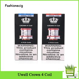 crown for head 2019 - Uwell Crown 4 Coil Head Dual SS904L 0.2ohm 0.4ohm Replacement Core For Crown IV Tank Atomizer 2019 discount crown for he