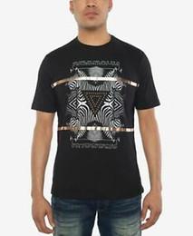 $enCountryForm.capitalKeyWord NZ - Sean John NEW Black Mens Size Large L Zebra Pyramid Graphic Tee T-Shirt $35- 072