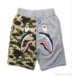 Justin bieber sale online shopping - 2017 Summer Camouflage Ape Pants Shark Mouth Beach Pants Justin Bieber Juvenile Pants Trousers Fear of God for Men Cheap Sale