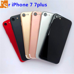 ingrosso iphone chassis nero-Indietro Coperchio posteriore Battery Housing Door Chassis Telaio centrale per iPhone Plus Bianco Get Get Rose Red Jet e Matte Black