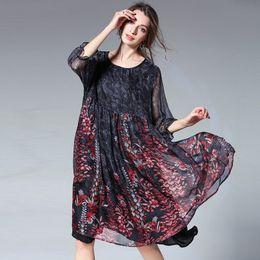 8710fc0e4 Más el tamaño XL-4XL Vestidos de mujer gorda