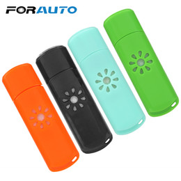 Aroma Essential Oil Humidifier Mini Air Freshener USB LED Car  Diffuser Without Essential Oil Interior Accessories на Распродаже