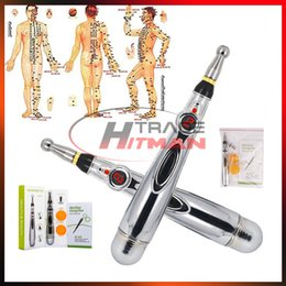 $enCountryForm.capitalKeyWord Australia - Electronic Acupuncture Pen Electric Meridians Massage Pen Laser Therapy Heal Meridian Energy Pen Relief Pain Tools dhl