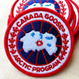 Free army backpack online shopping - Canada logo Embroidered Army patches goose round Tactical Badge Moral Armband For garment Backpack Caps
