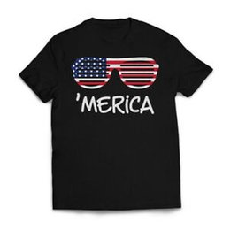 $enCountryForm.capitalKeyWord UK - 'Merica T shirt America USA Flag Patriotic Sunglasses Trump Guns 2020 Mens Tee
