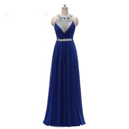 $enCountryForm.capitalKeyWord UK - Sleeveless crystal Prom dress evening dress party dresses lace hot chiffon party dress sexy long maxi evening party beach dresses