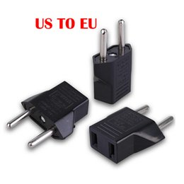 EuropEan ElEctrical online shopping - Universal European EU to US USA American Plug Converter Socket in Adapter Adaptor Travel Tomada de Parede Electrical Outlet DHL