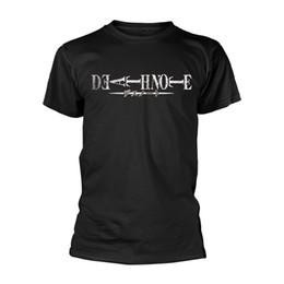 5e490379f1be Cheap T Shirt Design Crew Neck Men Death Note Short-Sleeve Printing Machine T  Shirts