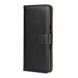 $enCountryForm.capitalKeyWord NZ - 10 Pcs  Lot Genuine Leather Cover Flip Case For Sony Xperia 10 Carcasas Phone Cover Coque Xperia XA3 Wallet Case Protective Cover Xperia10