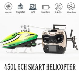 $enCountryForm.capitalKeyWord Australia - Smart Drone 450L 6CH RC Helicopter 450L 6CH 3D 6-axis-Gyro Flybarless GPS RC Helicopter RTF 2.4GHZ Toy