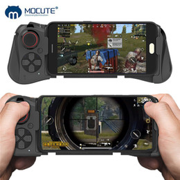 bluetooth joystick for iphone 2019 - Mocute 058 Wireless Game pad Bluetooth Android Joystick Telescopic Controller Universal Gaming Gamepad For iPhone PUBG M